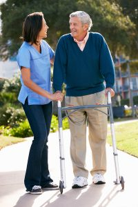 Home Health Care Nassau County NY - Encouraging the use of a Walker for your Aging Parent